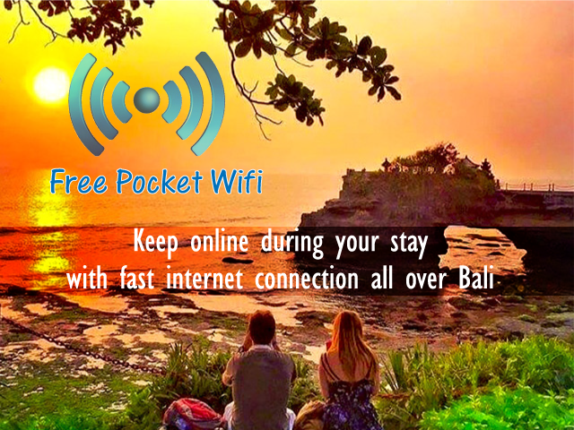 Free Wifi Pocket during your travel