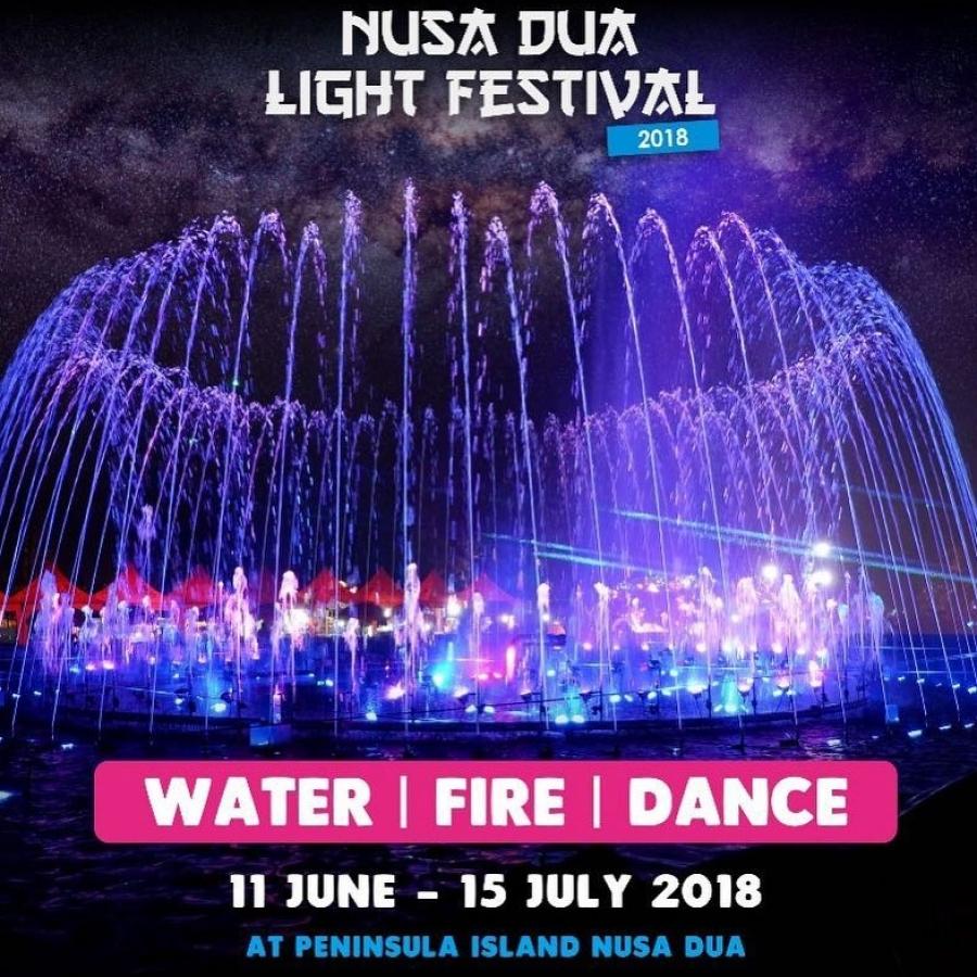 Bali Villa Arrangements - 35 days Light Festival at Nusa dua from June 11  untill July 15 2018