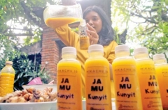 Herbal Drink boosted Bali immune